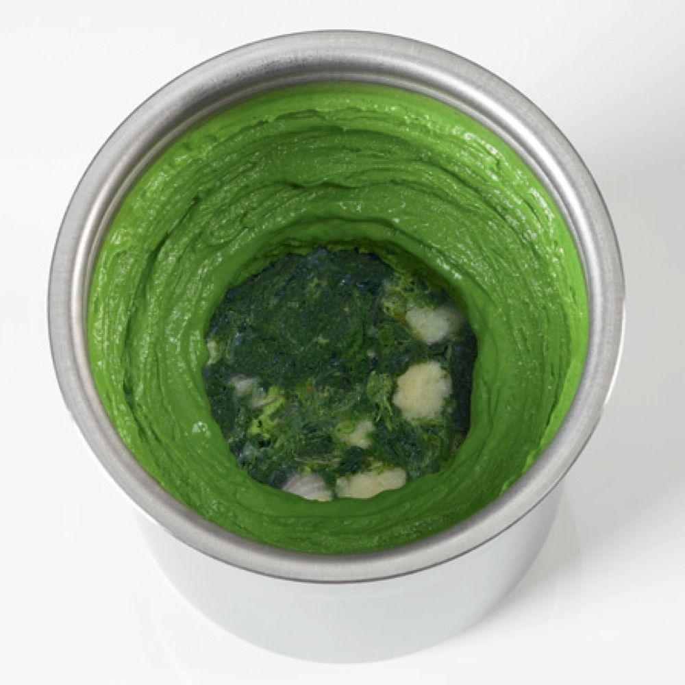 Salsa verde pacotized five times